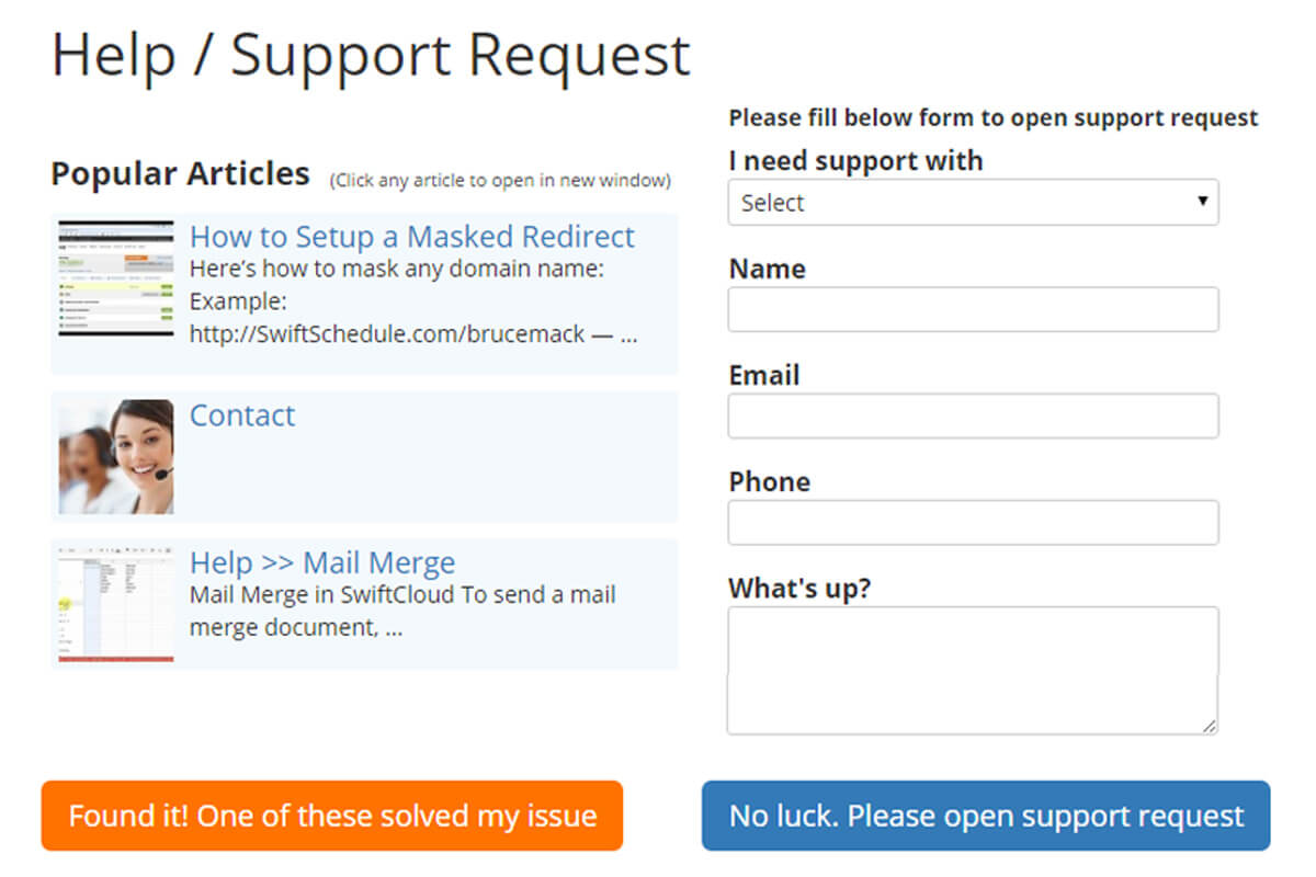 Support Help Desk Software