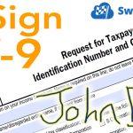 W9 Electronic Signature